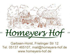 Winterliches auf Homeyers Hof
