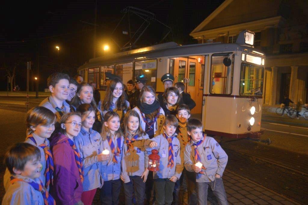 Das Friedenslicht aus Bethlehem kommt wieder nach Hannover @ Döhren
