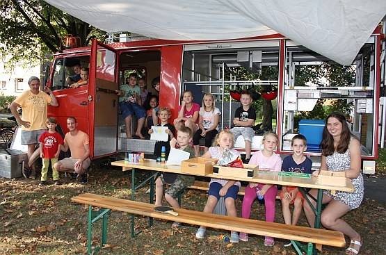 Spielmobil in Havelse @ Spielplatz Auf der Höchte